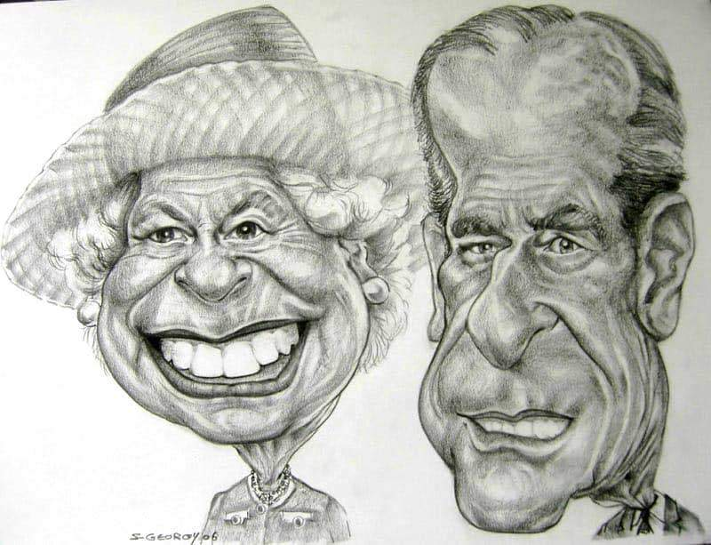 Queen Elizabeth + Prince Philip
